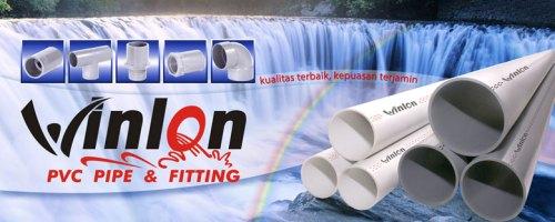 Mau cari pipa pipa PVC berkualitas, pilih PVC Winlon !!!